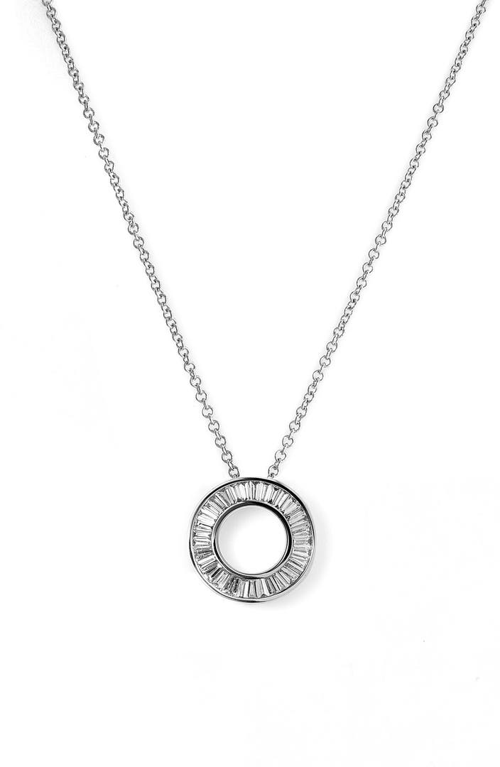 bony levy 39 circle of life 39 small diamond pendant necklace. Black Bedroom Furniture Sets. Home Design Ideas