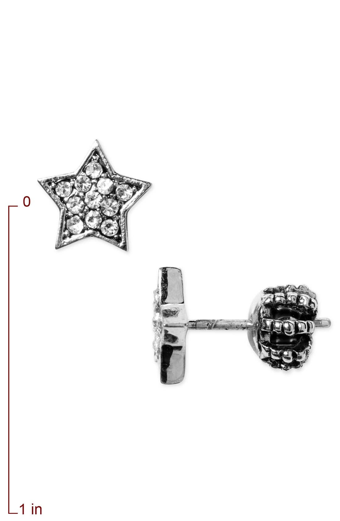 Alternate Image 2  - Juicy Couture 'Star' Stud Earrings