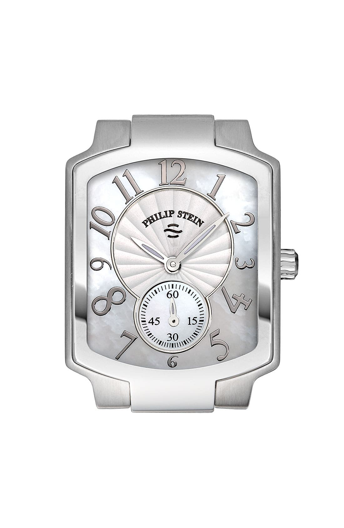 Alternate Image 1 Selected - Philip Stein® Ladies' 'Classic' Small Stainless Steel Watch Case