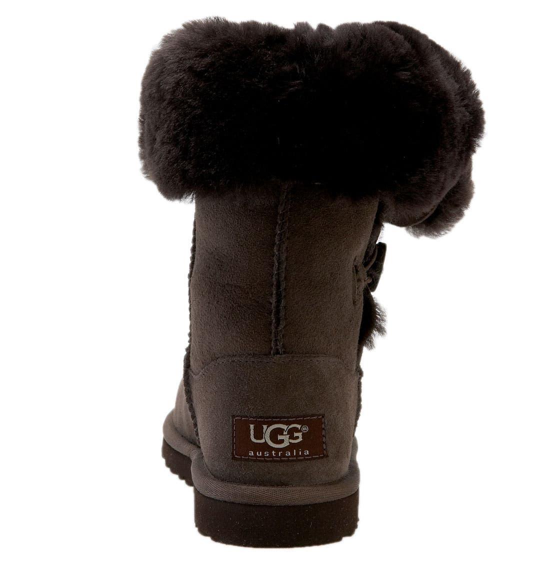 Alternate Image 3  - UGG® 'Bailey Button Triplet' Boot (Little Kid & Big Kid)