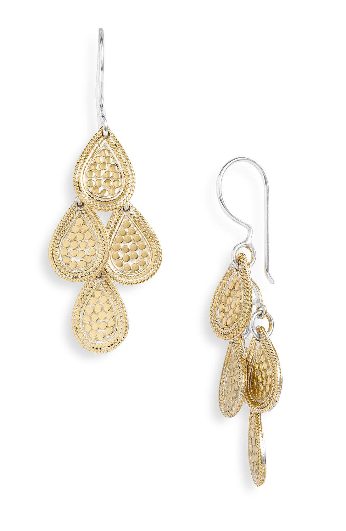 'Gili' Chandelier Earrings,                         Main,                         color, Gold/ Silver