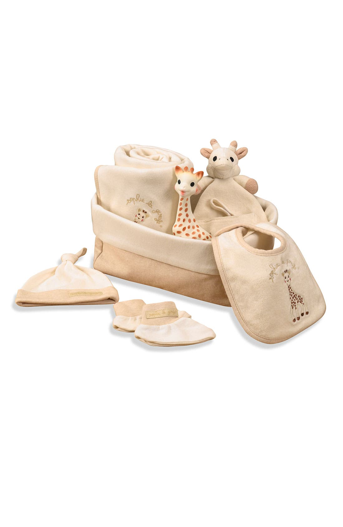 Alternate Image 1 Selected - Sophie la Girafe 'My First Hours' Gift Set