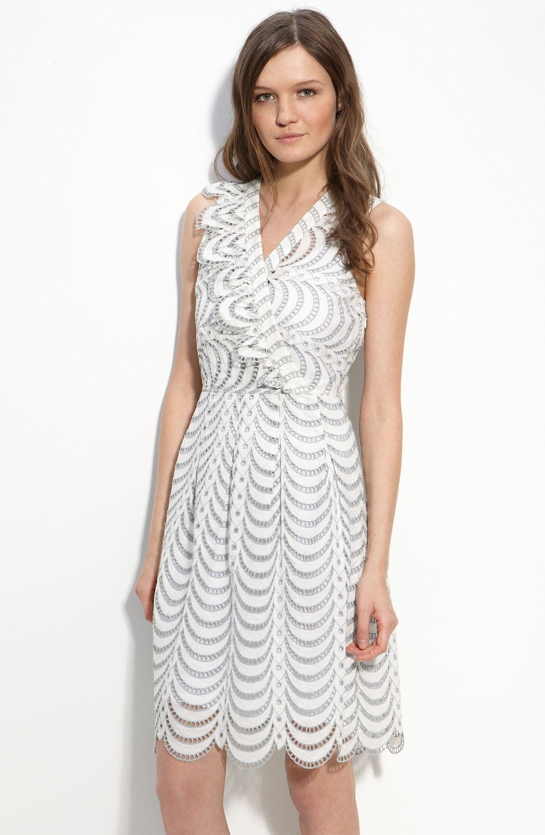 Alternate Image 1 Selected - MARC BY MARC JACOBS 'Edith' Eyelet Dress