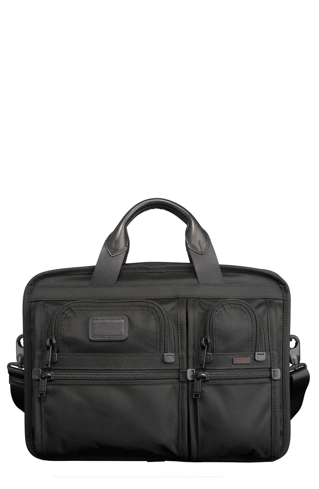 Alternate Image 1 Selected - Tumi 'Medium Alpha T-Pass™' Slim Laptop Briefcase