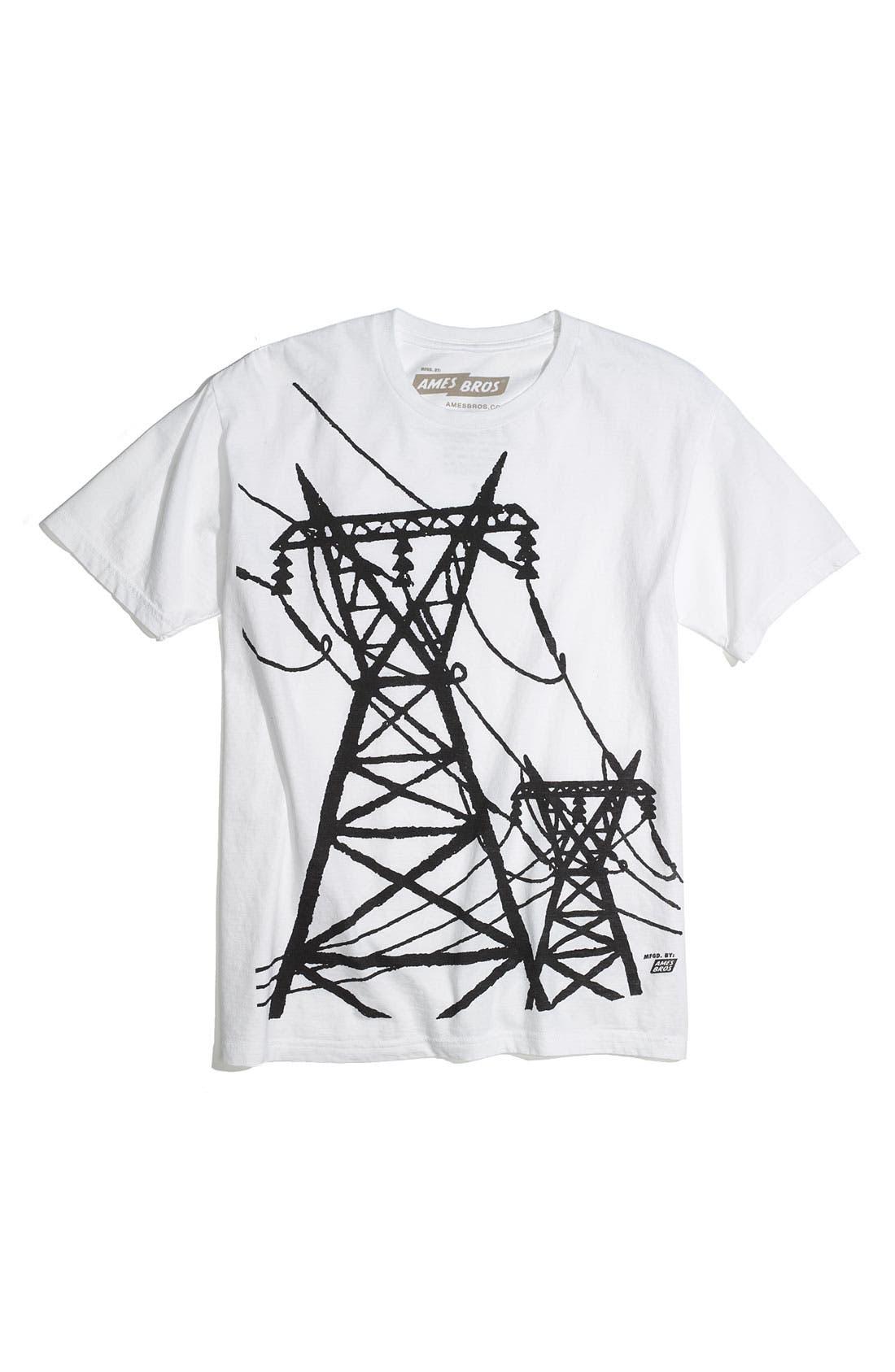 Alternate Image 1 Selected - Ames Bros 'Get Together' Trim Fit Crewneck T-Shirt (Men)