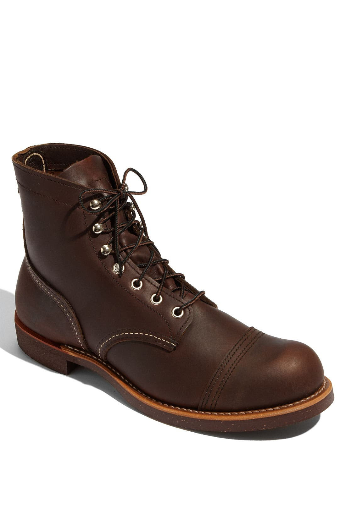 'Iron Ranger' 6 Inch Boot,                         Main,                         color, Amber Harness Leather