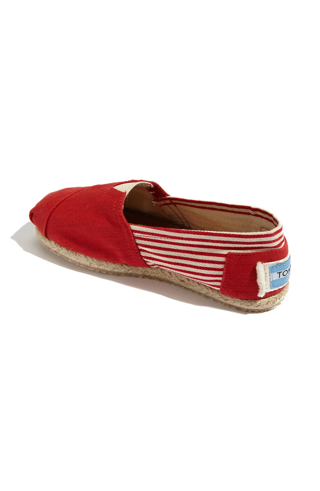 Alternate Image 2  - TOMS 'Classic - University' Slip-On (Women)