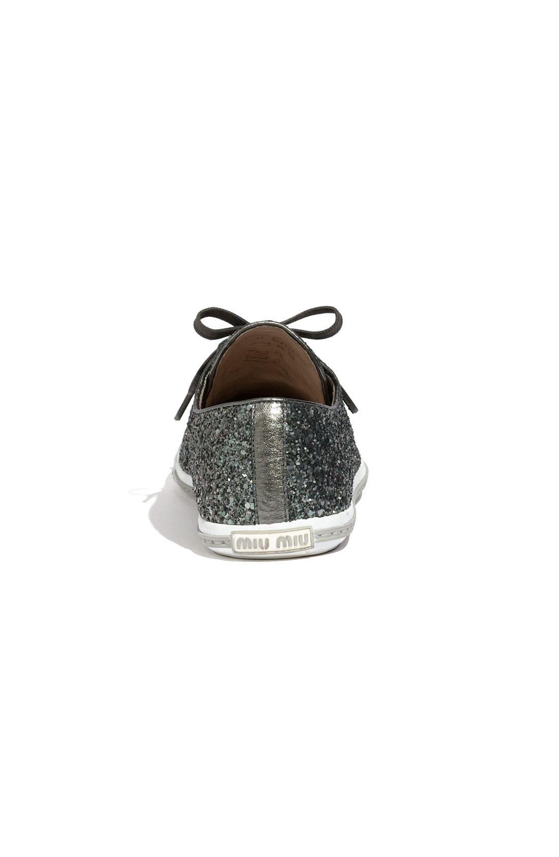 Alternate Image 3  - Miu Miu Glitter Sneaker