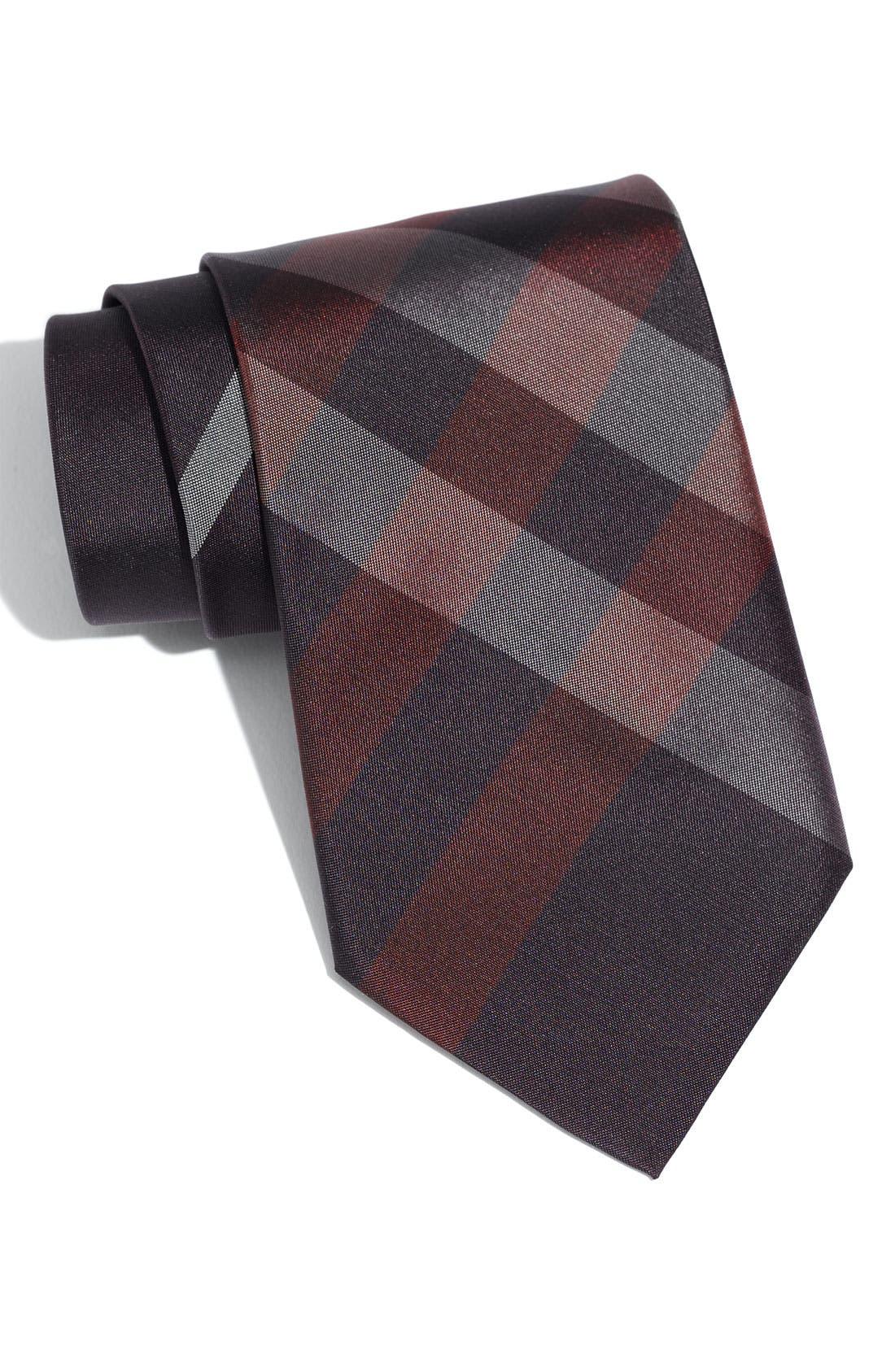 Alternate Image 1 Selected - Burberry London Woven Silk Tie