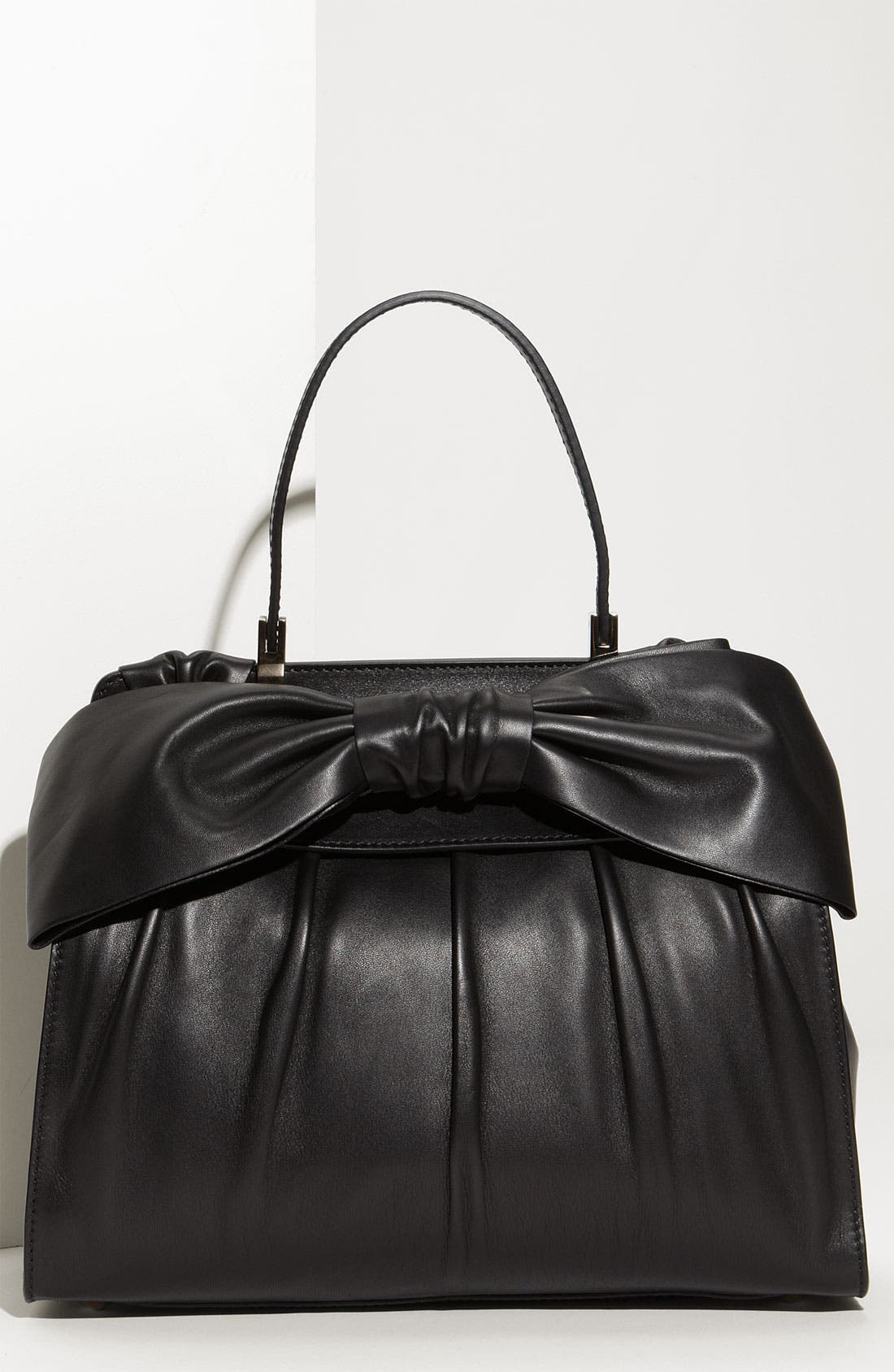 Alternate Image 1 Selected - Valentino 'Aphrodite' Leather Shopper