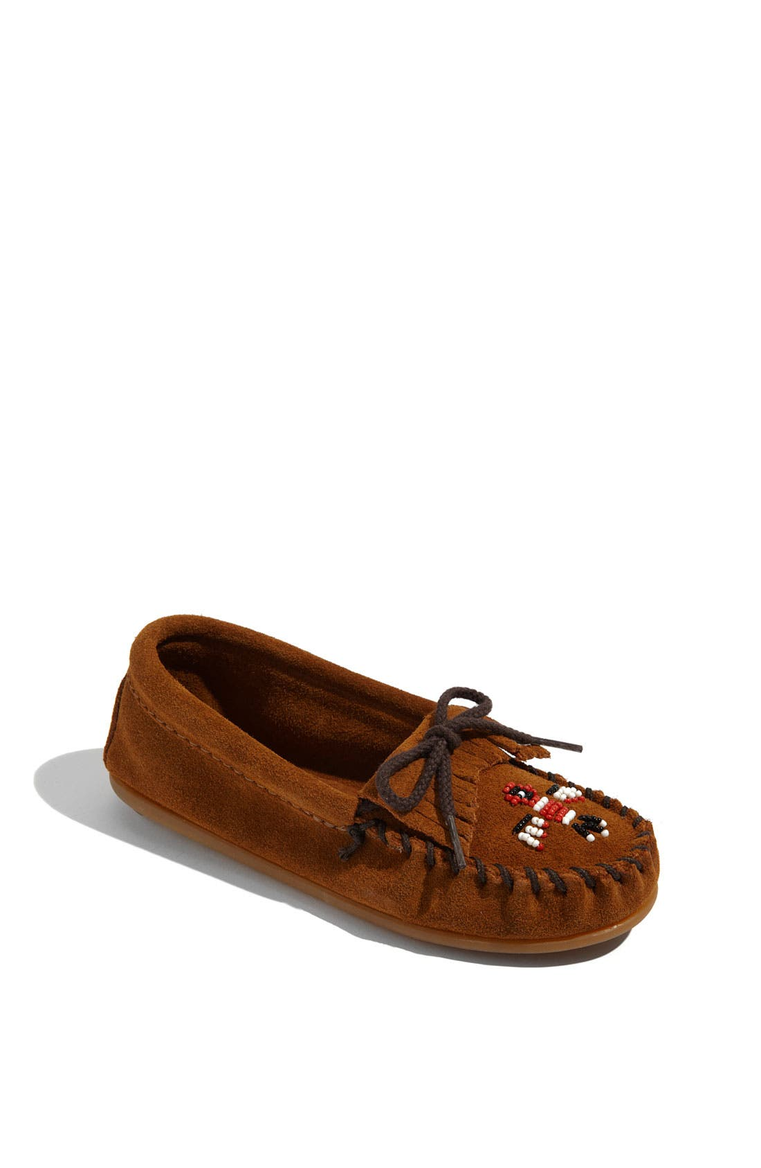 Minnetonka 'Thunderbird' Moccasin (Toddler, Little Kid & Big Kid)