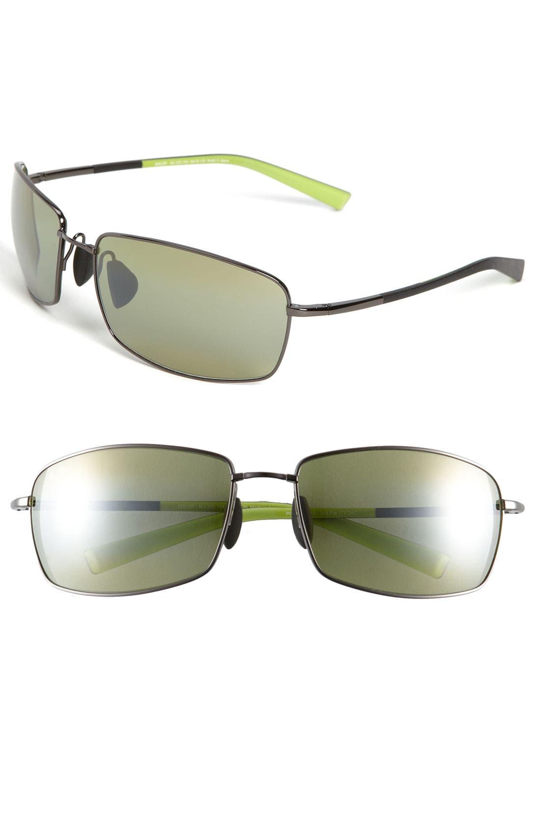 Alternate Image 1 Selected - Maui Jim 'MauiFlex - Ironwoods' PolarizedPlus® 64mm Sunglasses