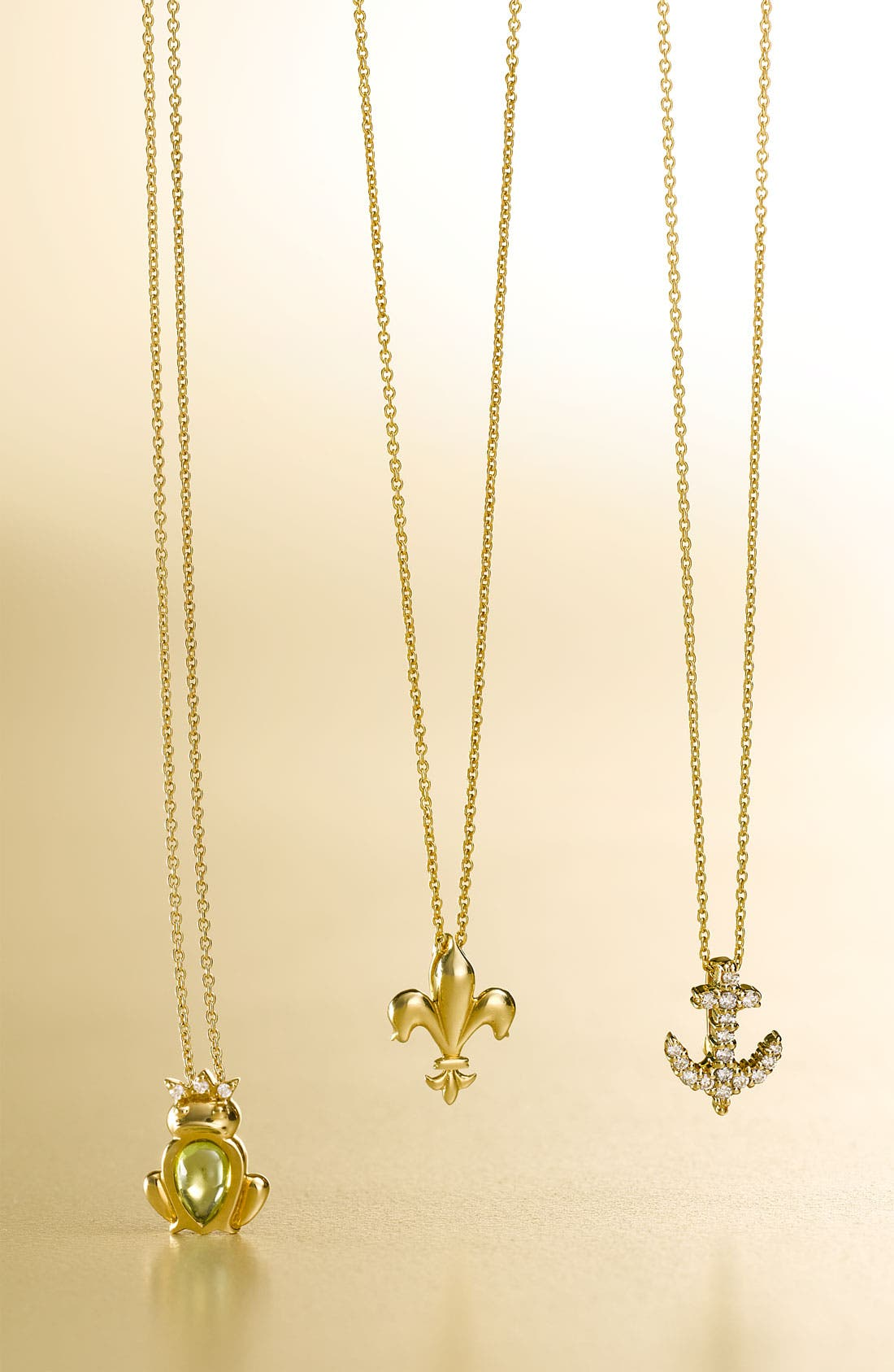 Alternate Image 2  - Roberto Coin 'Tiny Treasures' Fleur de Lis Necklace