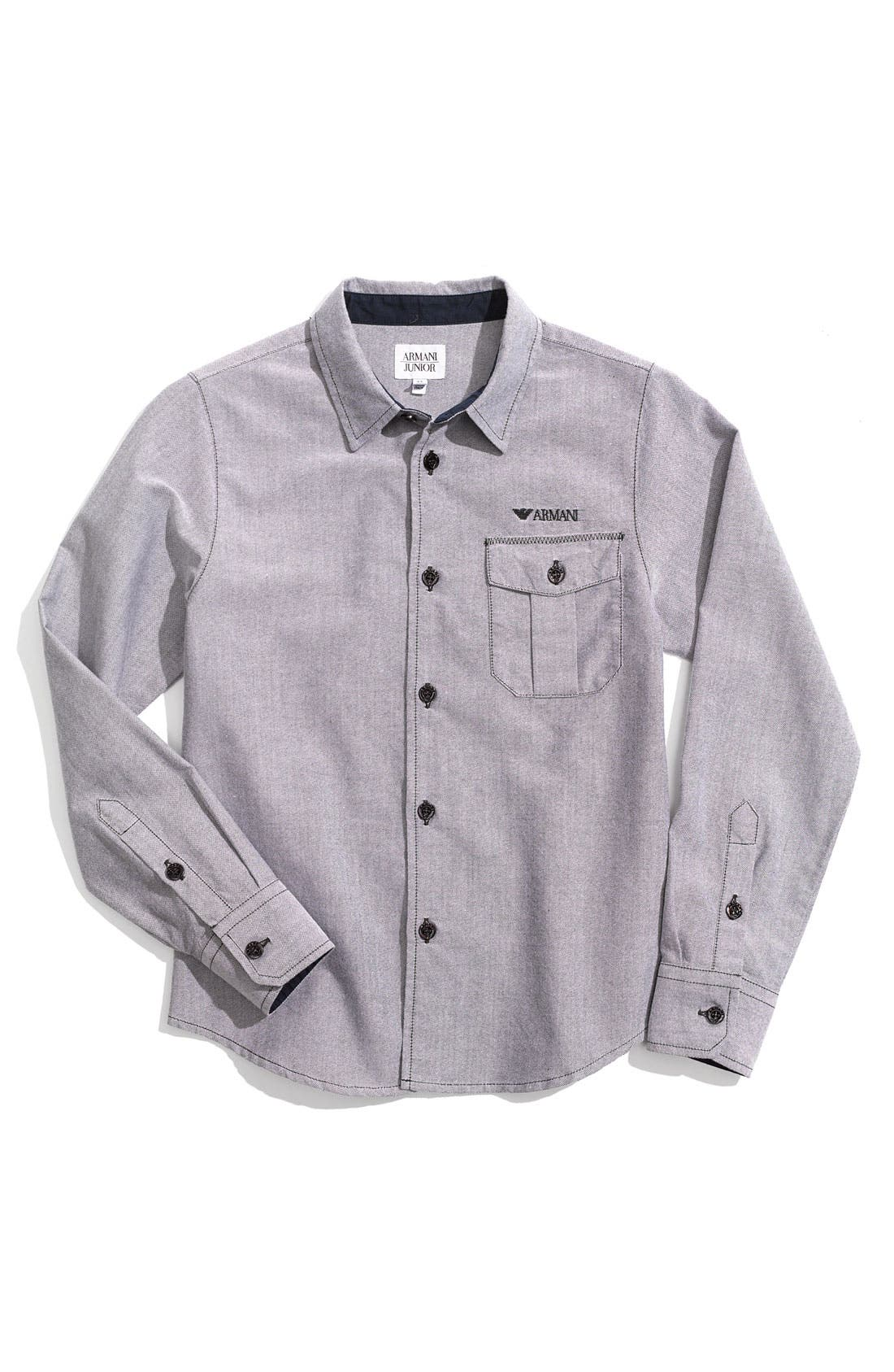 Alternate Image 1 Selected - Armani Junior Shirt (Little Boys)
