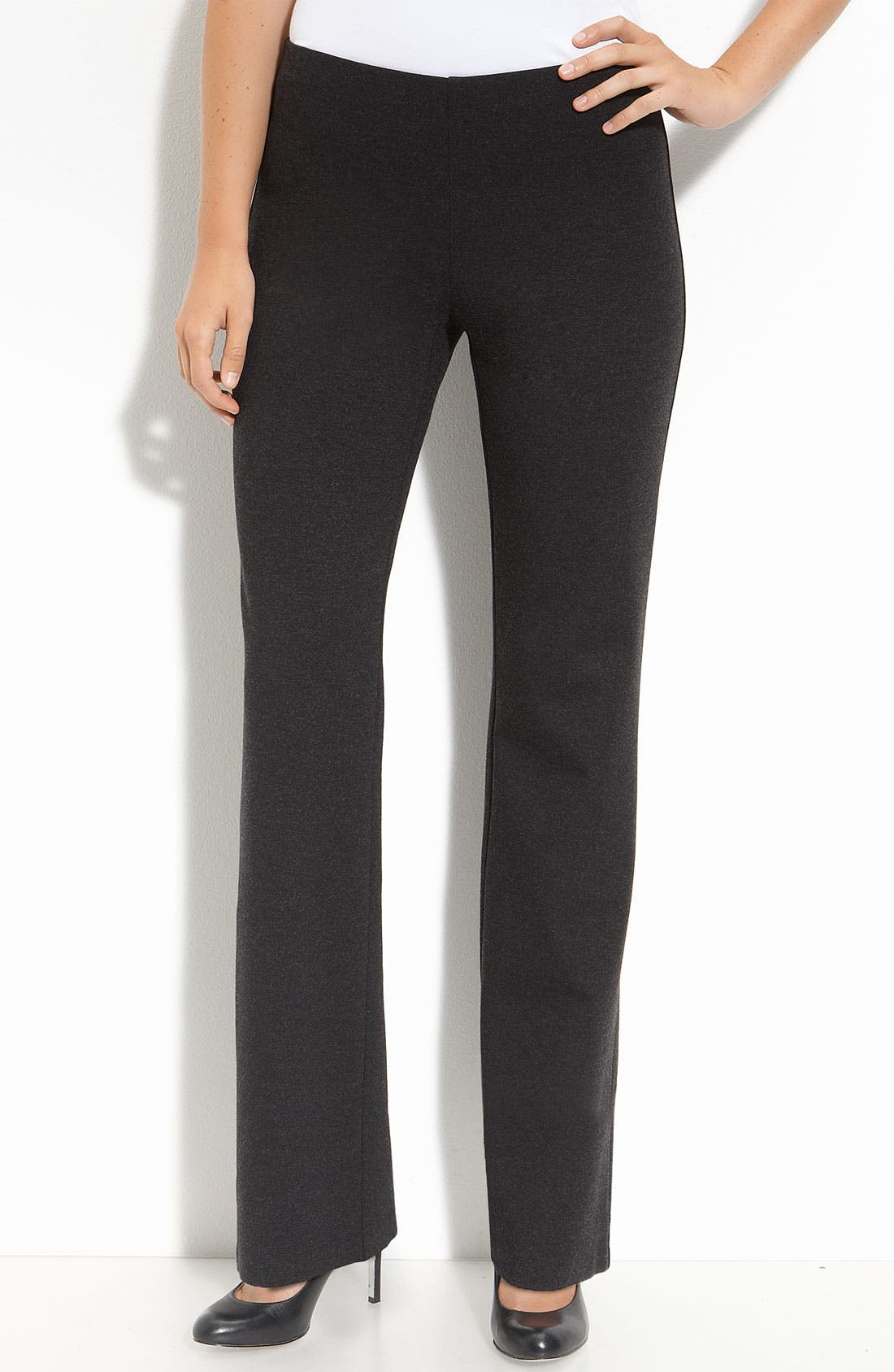 Alternate Image 1 Selected - Eileen Fisher Ponte Knit Pants (Online Exclusive)