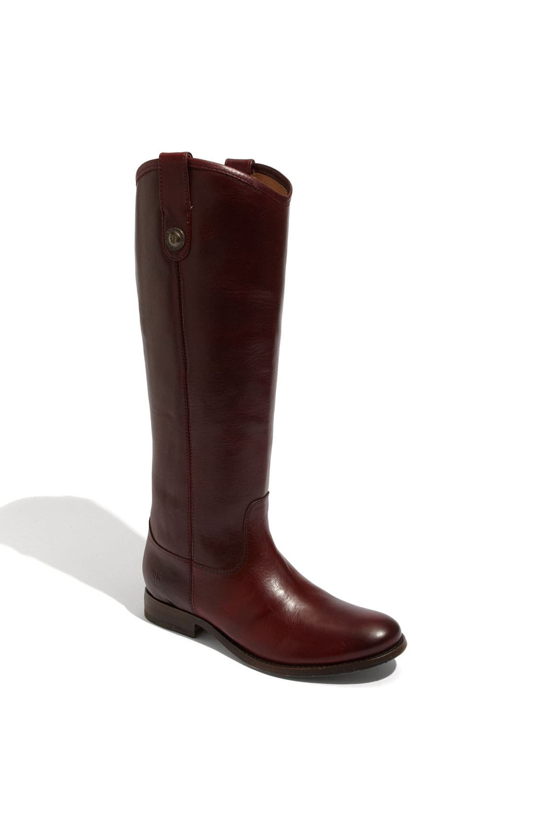Main Image - Frye 'Melissa Button' Leather Riding Boot (Women)