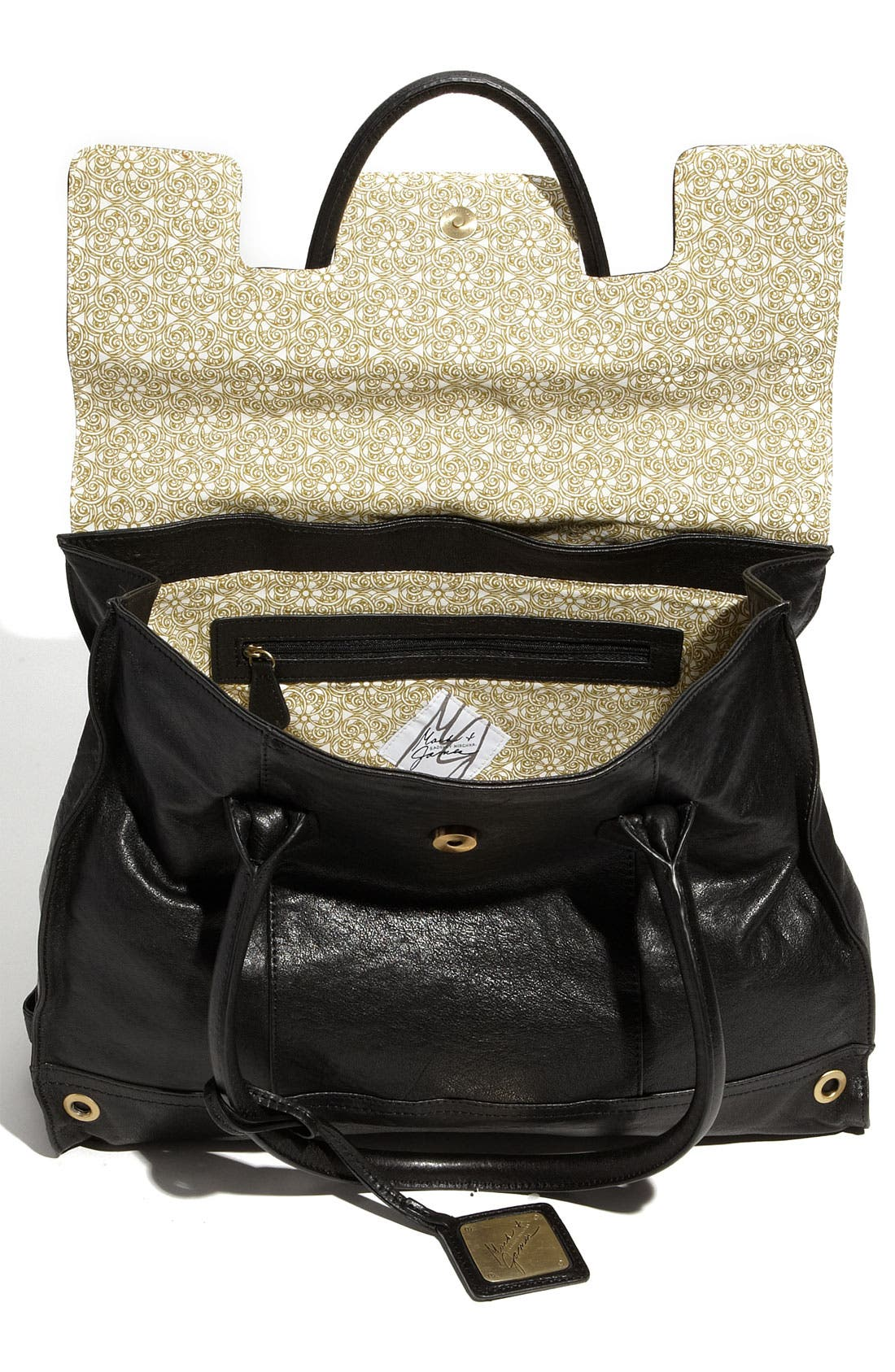Alternate Image 3  - Mark & James by Badgley Mischka 'Mina' Leather Tote
