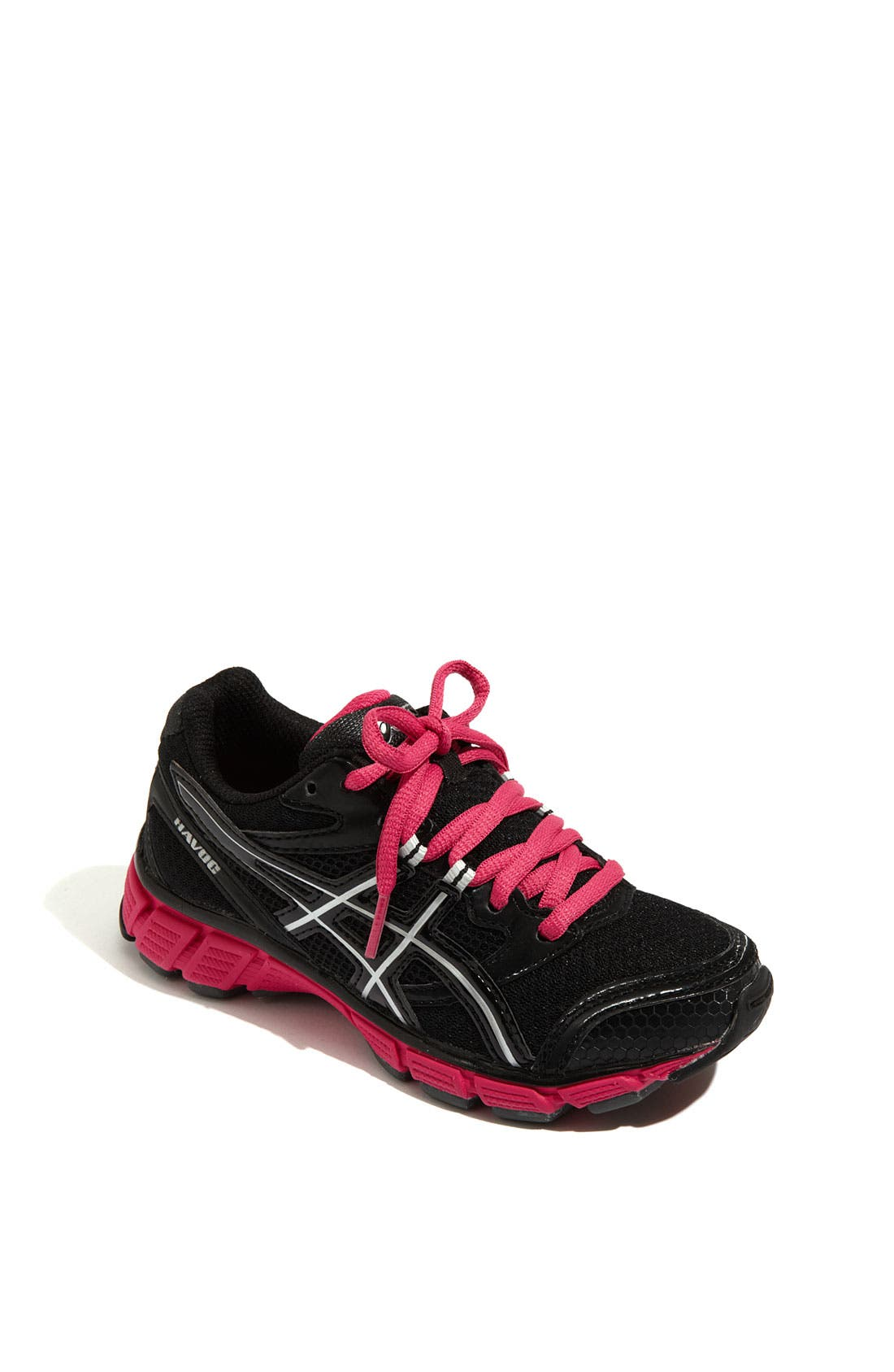 Alternate Image 1 Selected - ASICS®  'Havoc' Running Shoe (Little Kid & Big Kid)