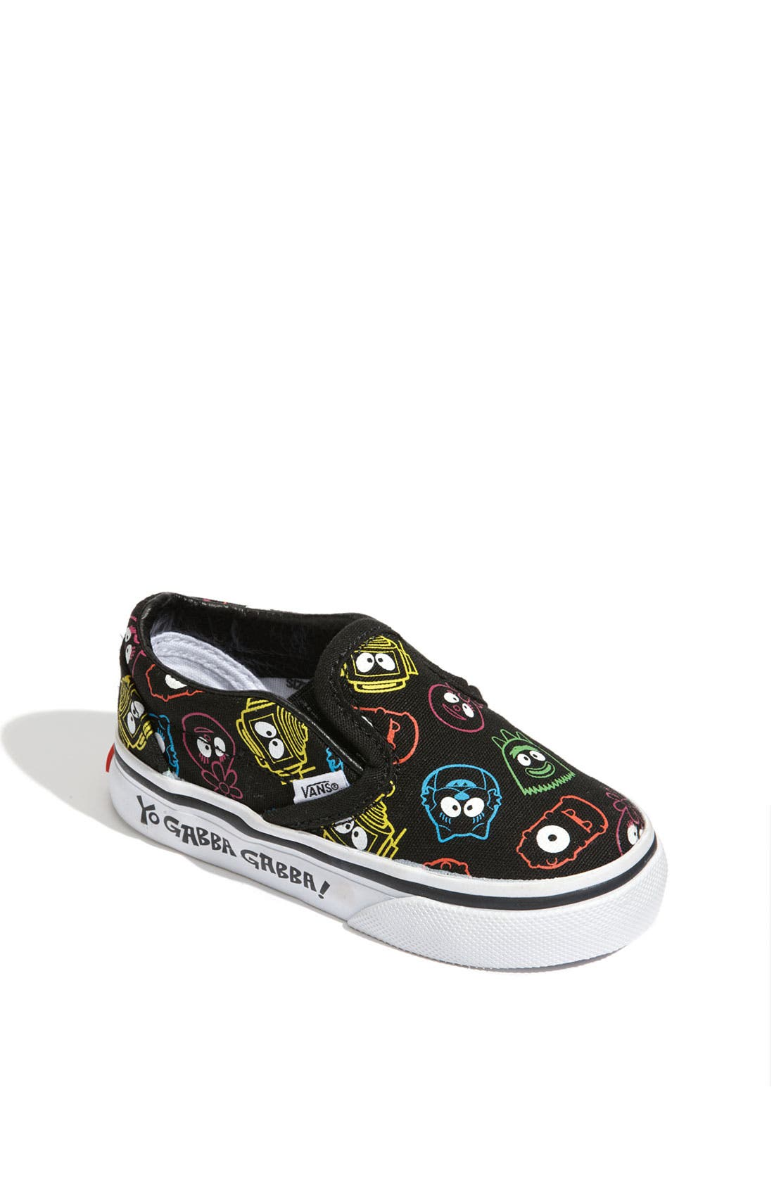 Alternate Image 1 Selected - Vans 'Yo Gabba Gabba!™' Slip-On (Walker & Toddler)
