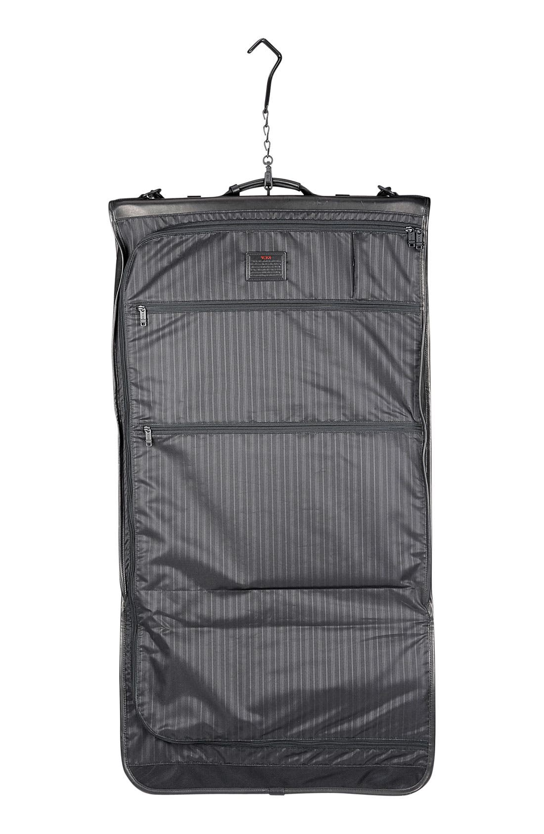 Alternate Image 4  - Tumi Trifold Carry On Leather Garment Carrier