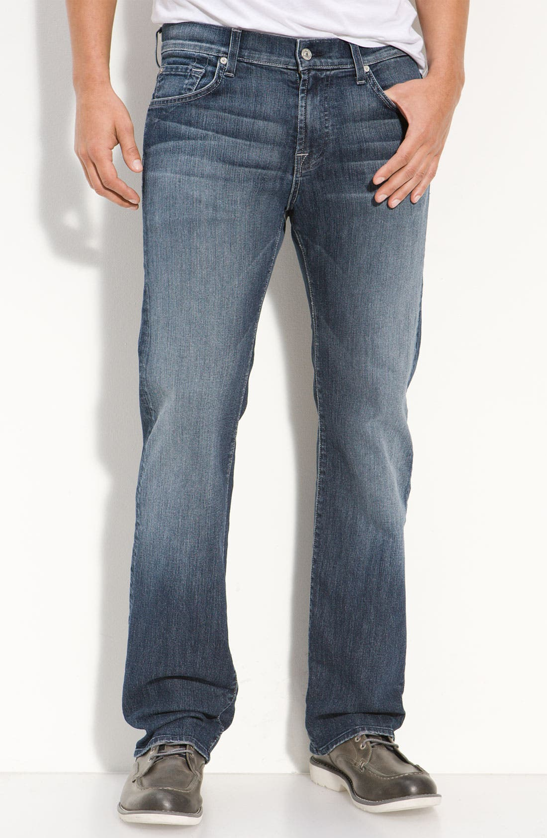 Alternate Image 2  - 7 For All Mankind® 'Austyn' Relaxed Straight Leg Jeans (New Fiji)