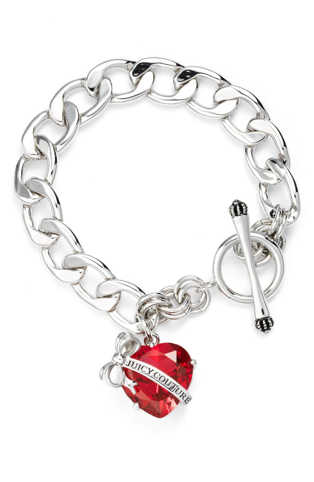 Main Image - Juicy Couture 'Technicolor Dreams' Starter Charm Bracelet