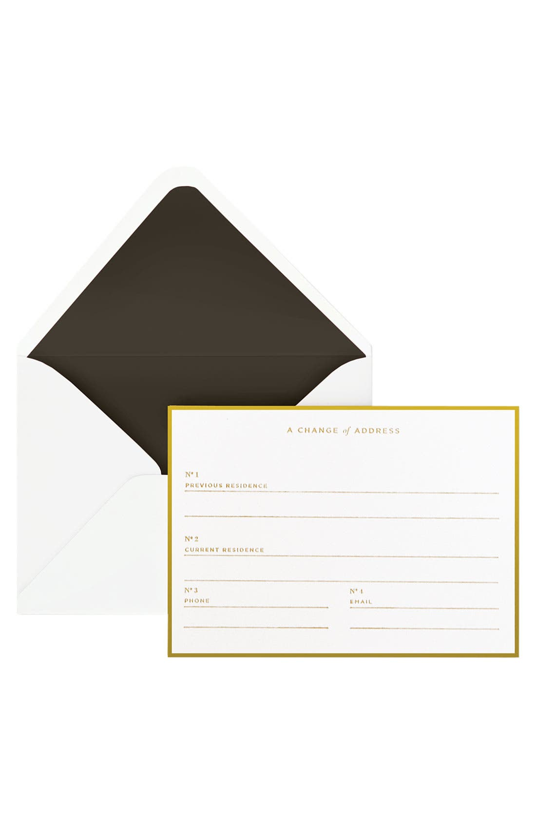 Alternate Image 2  - Change of Address Note Cards (Set of 16)
