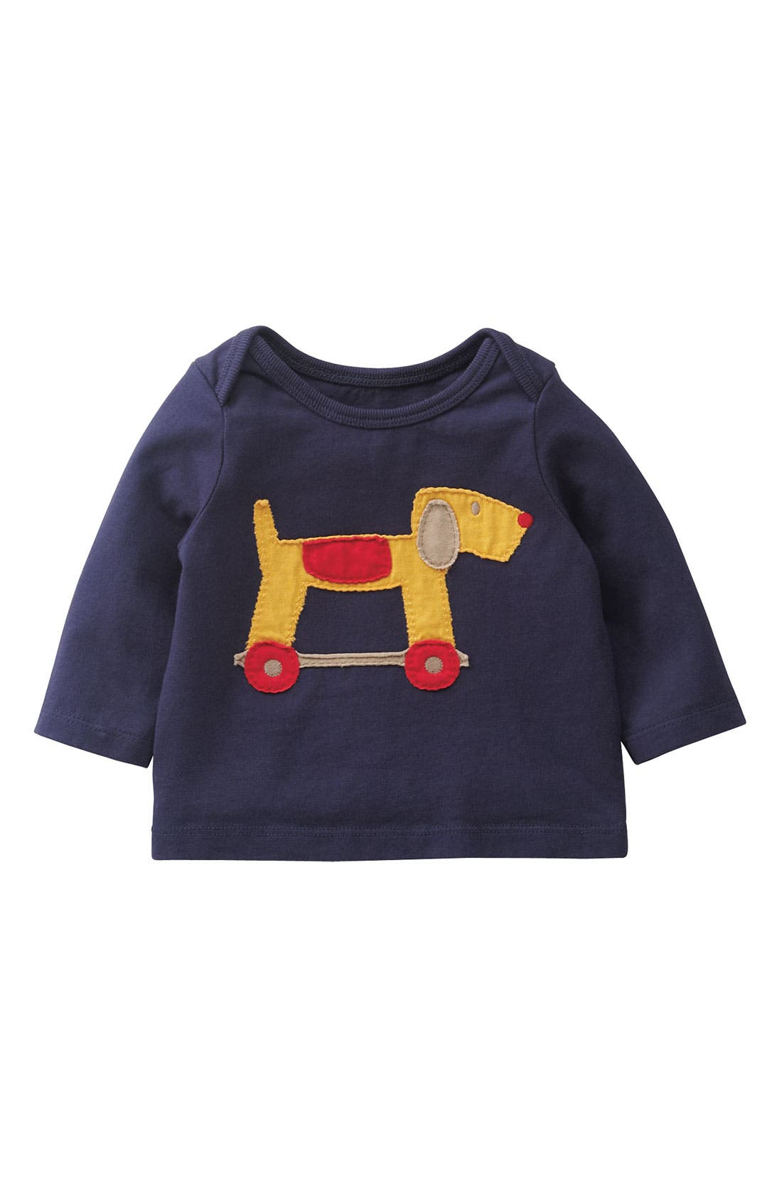 Alternate Image 1 Selected - Mini Boden Appliqué T-Shirt (Infant)