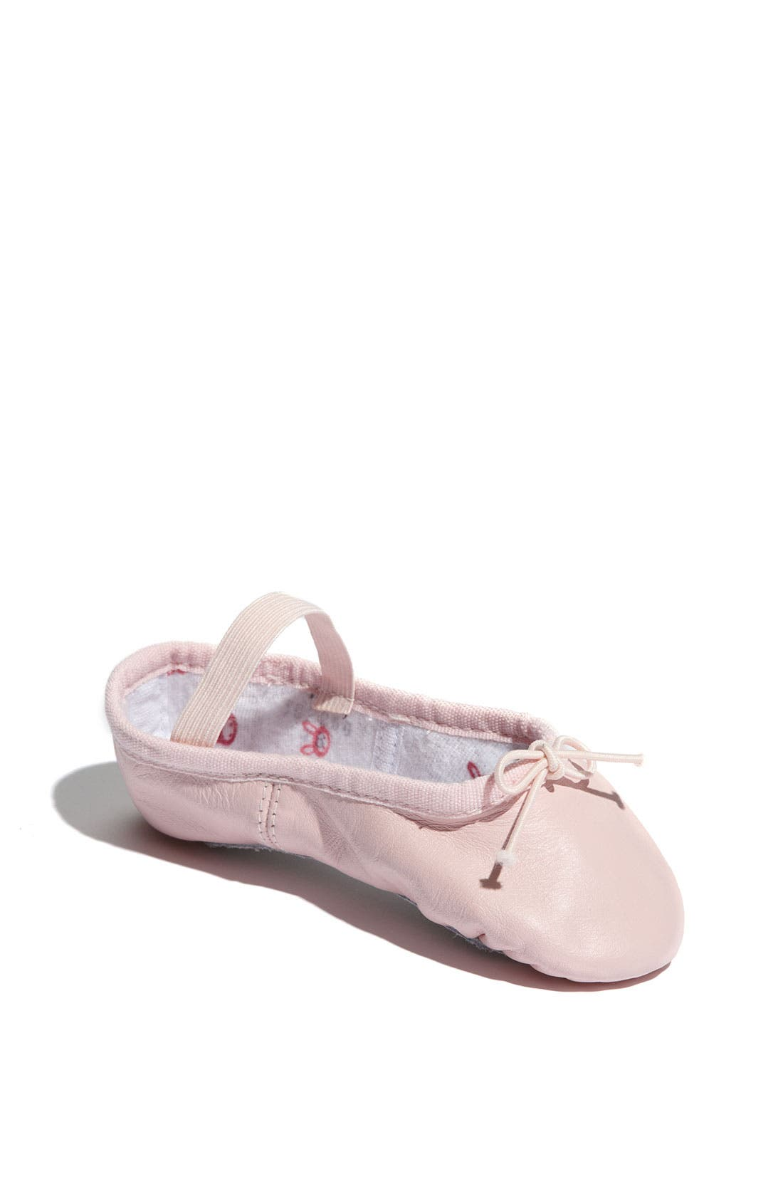 Alternate Image 1 Selected - Bloch 'Bunnyhop' Ballet Flat (Walker, Toddler & Little Kid)