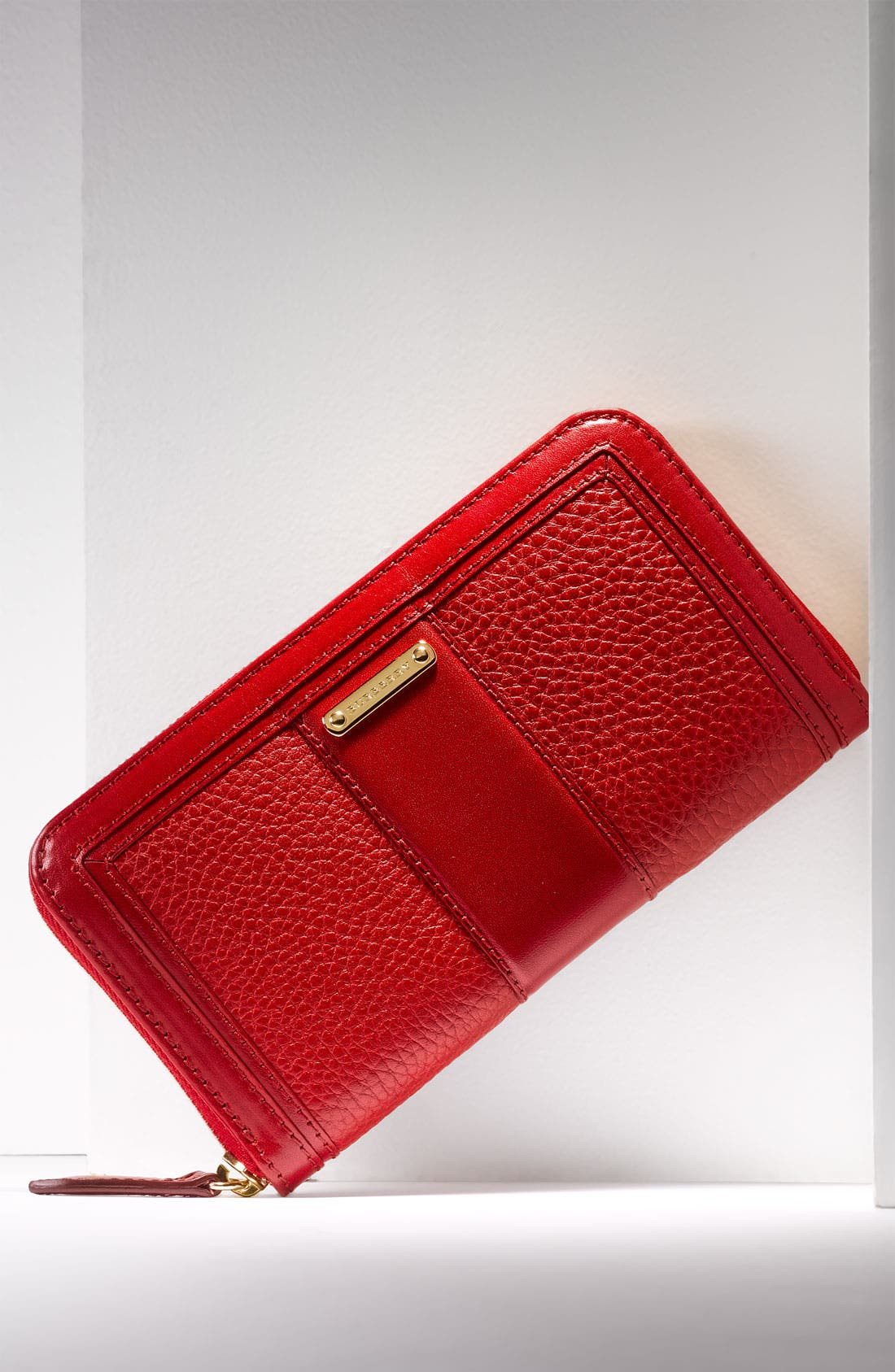 Alternate Image 6  - Burberry Zip Around Wallet