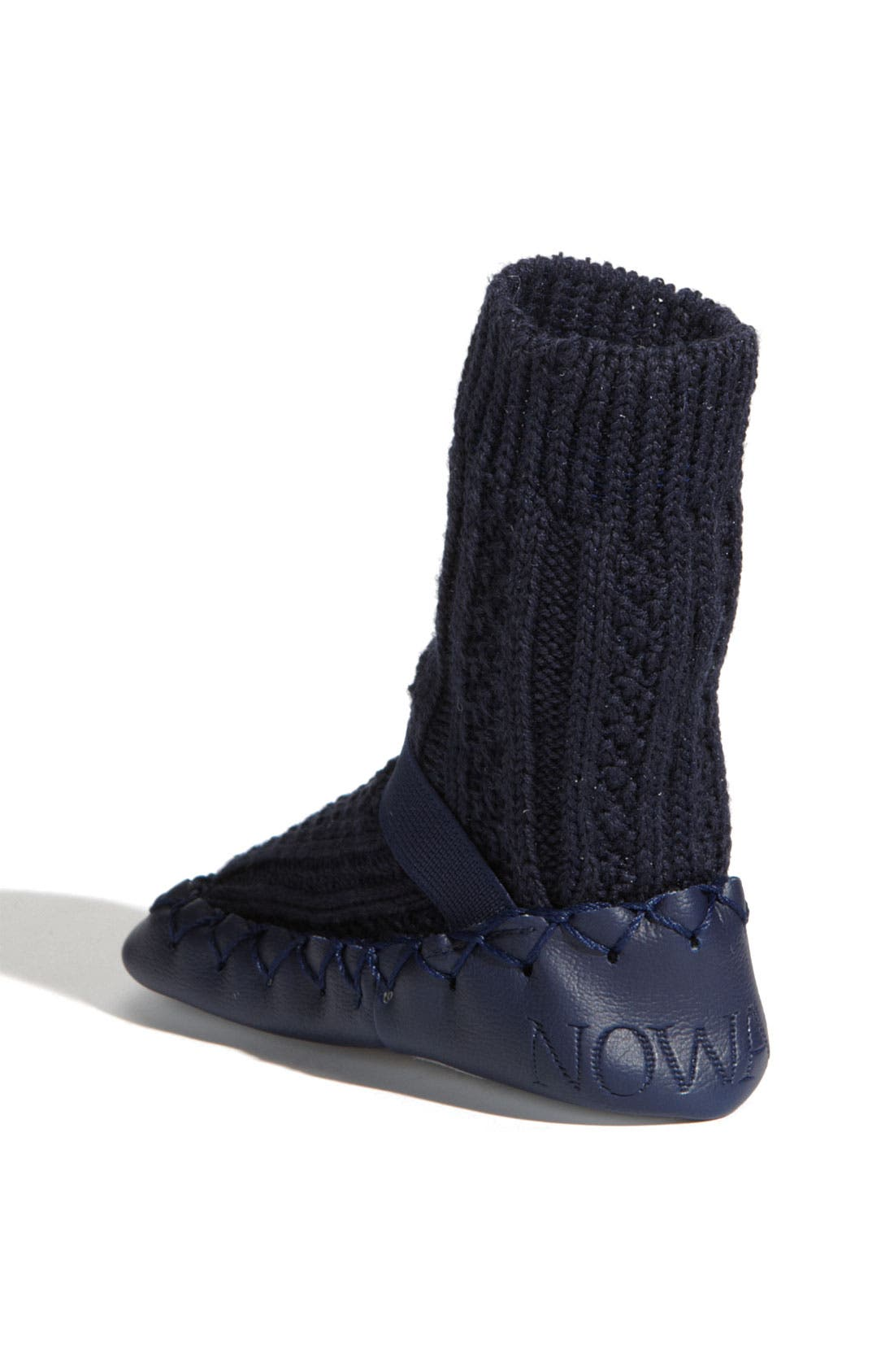 Alternate Image 2  - Nowali Cable Knit Moccasins (Baby & Walker)