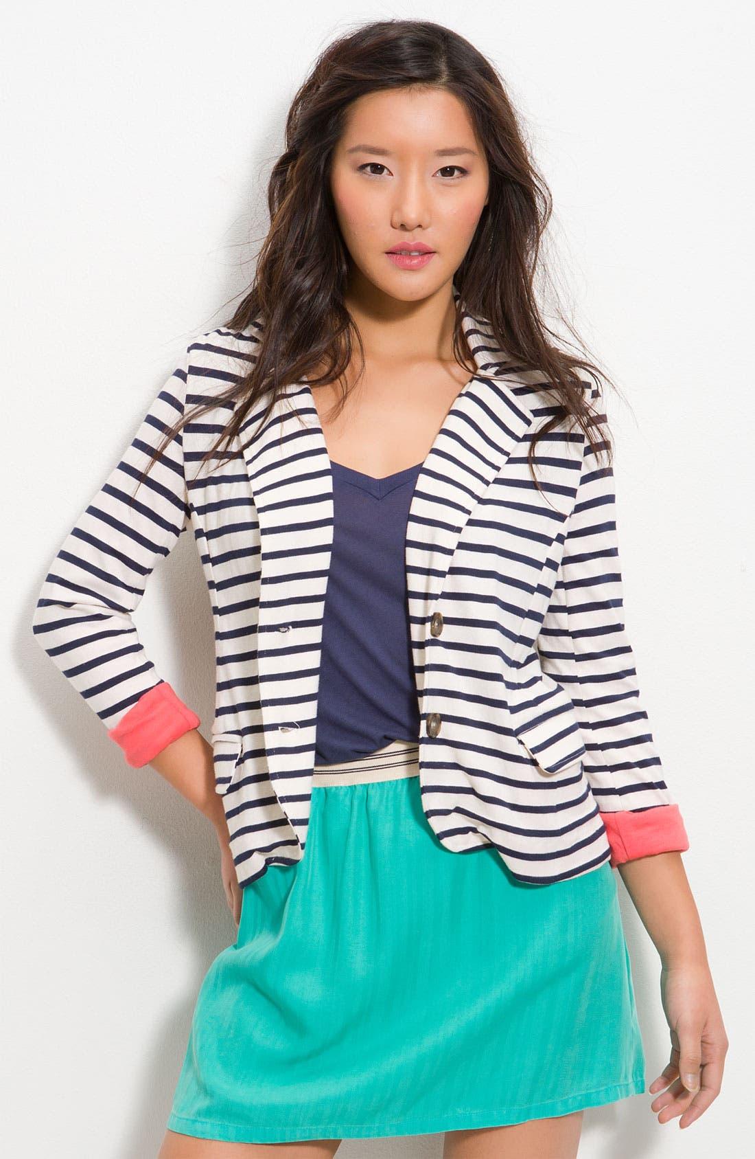 Alternate Image 1 Selected - Splendid 'Palm Desert' Stripe Blazer