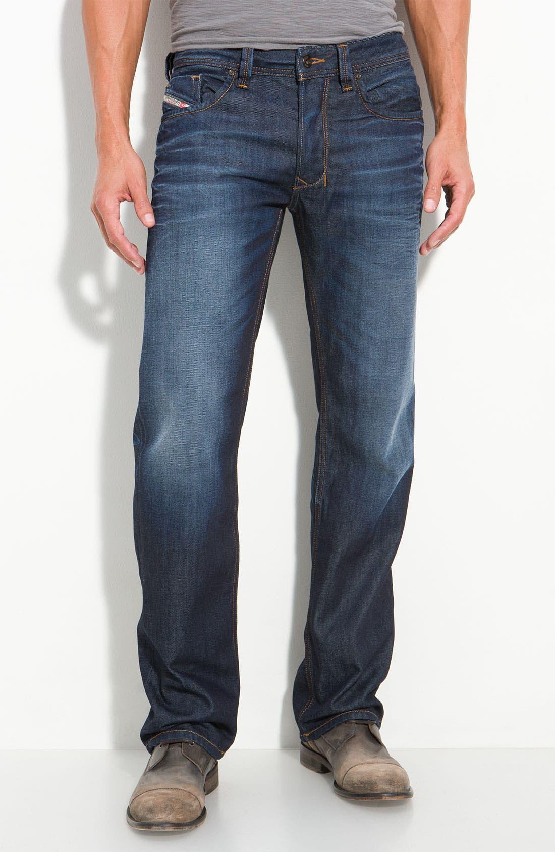 Alternate Image 1 Selected - DIESEL® Larkee Straight Leg Jeans (73N)
