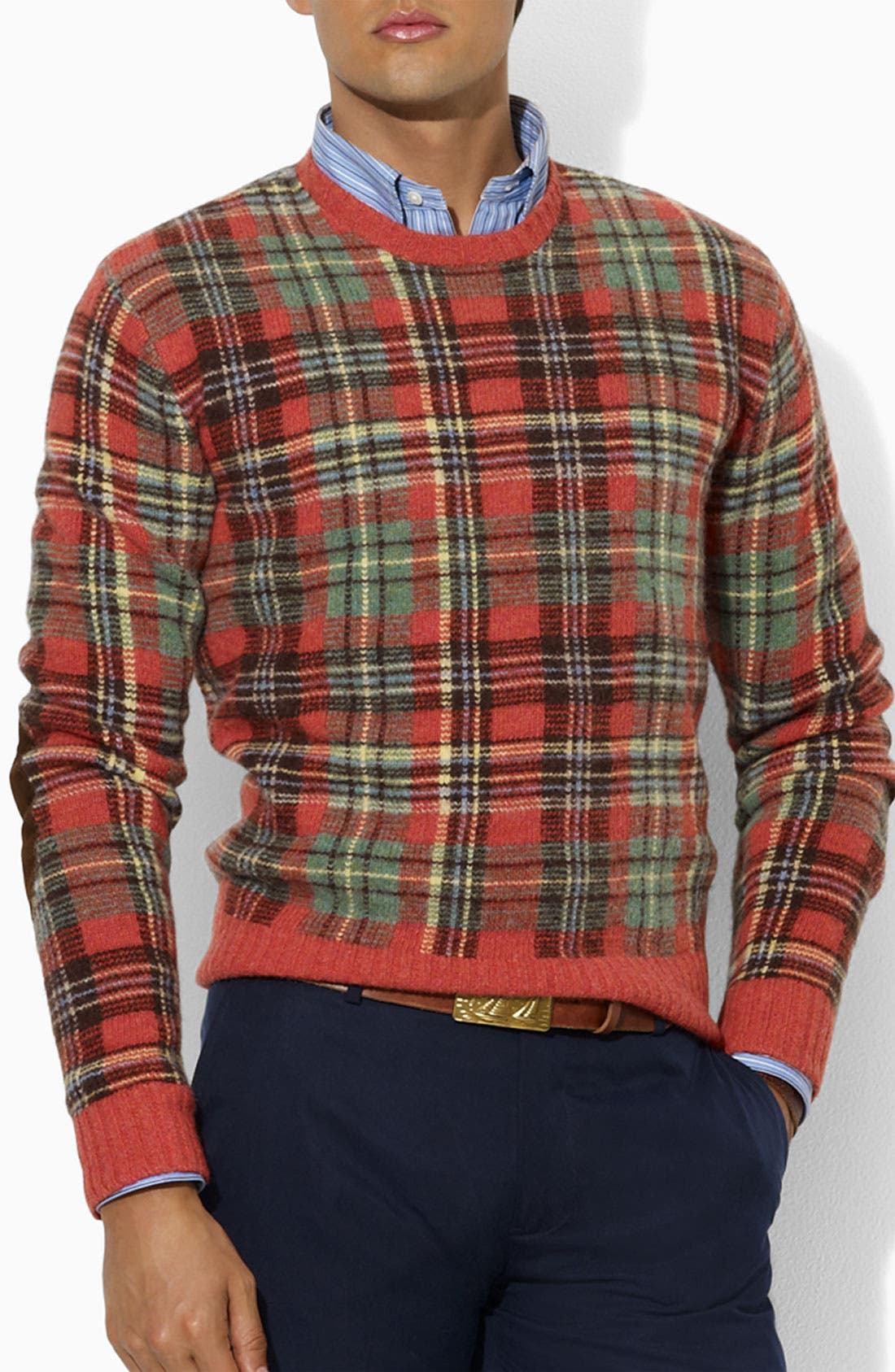 Alternate Image 1 Selected - Polo Ralph Lauren Intarsia Sweater