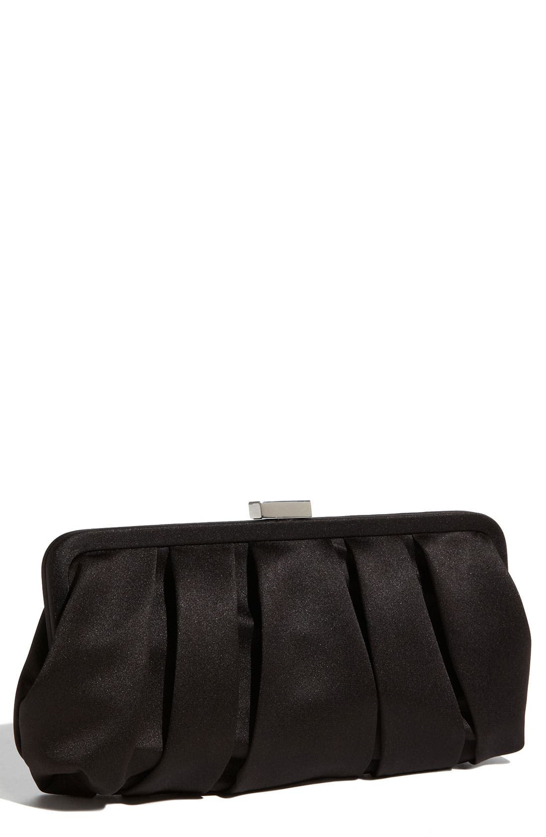 Main Image - Nina 'Logan' Satin Clutch