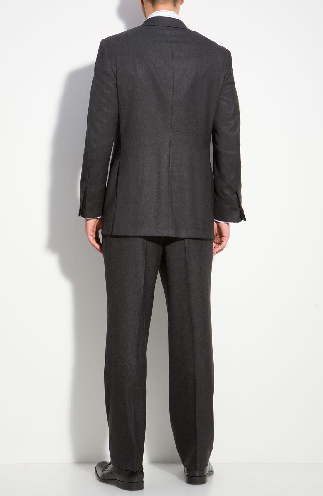 Alternate Image 2  - Hickey Freeman A Fit Wool Suit