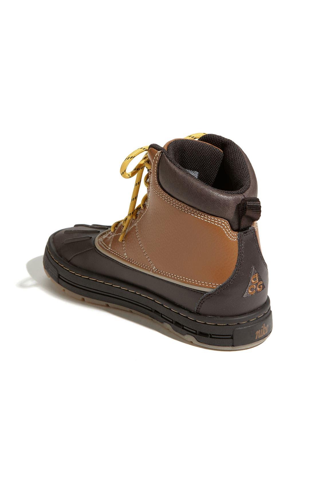 Alternate Image 2  - Nike 'Woodside' Hiking Boot (Toddler, Little Kid & Big Kid)