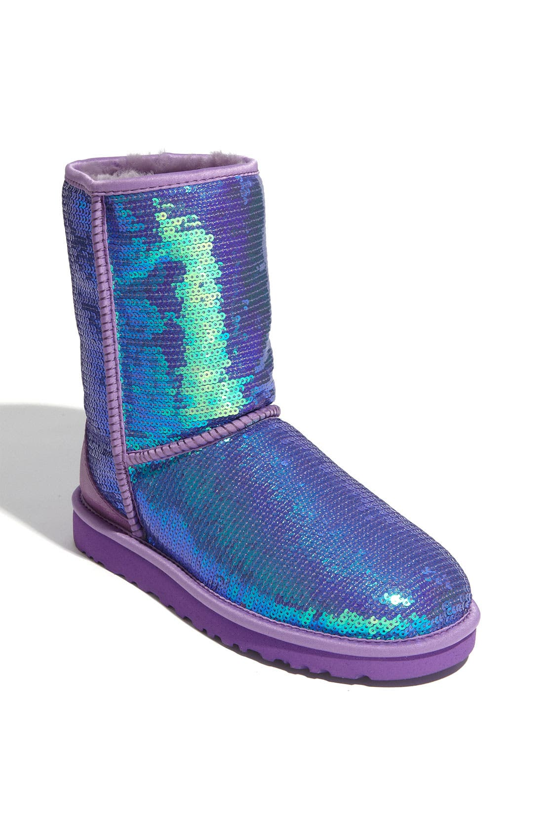 Main Image - UGG® Classic Short with Sparkles Boot