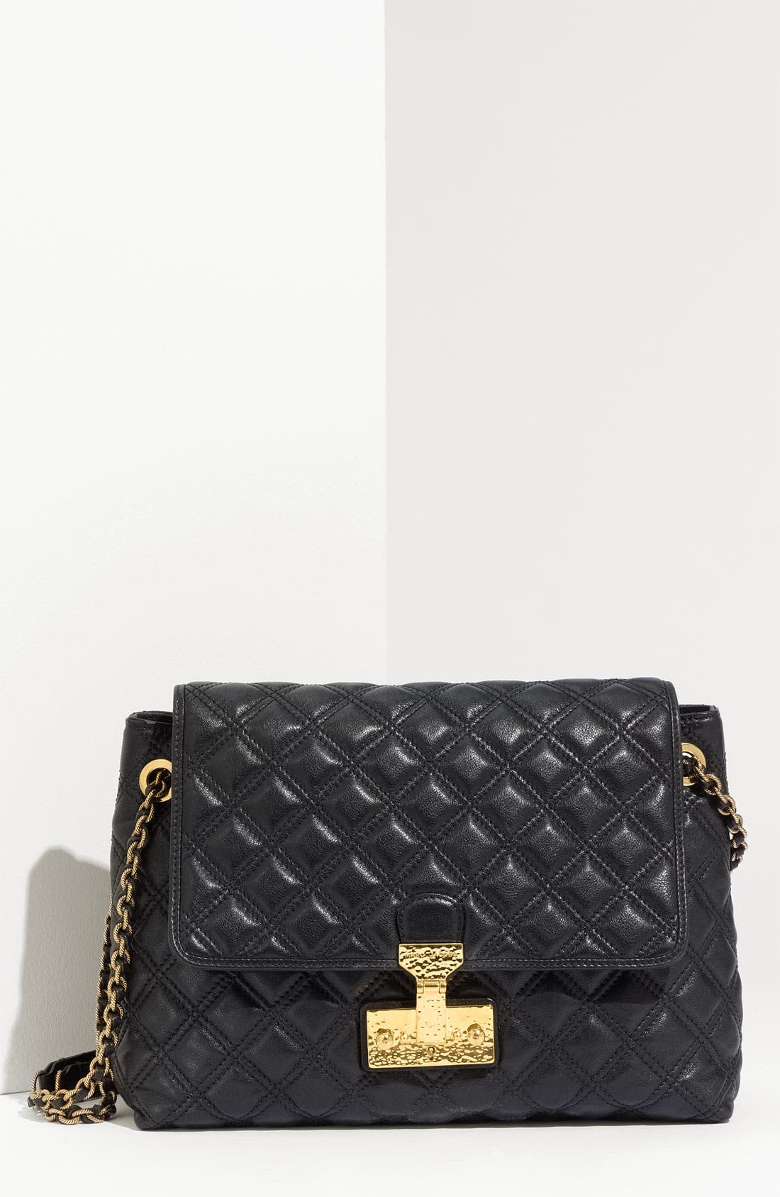 Main Image - MARC JACOBS 'Baroque - Extra Large' Leather Shoulder Bag