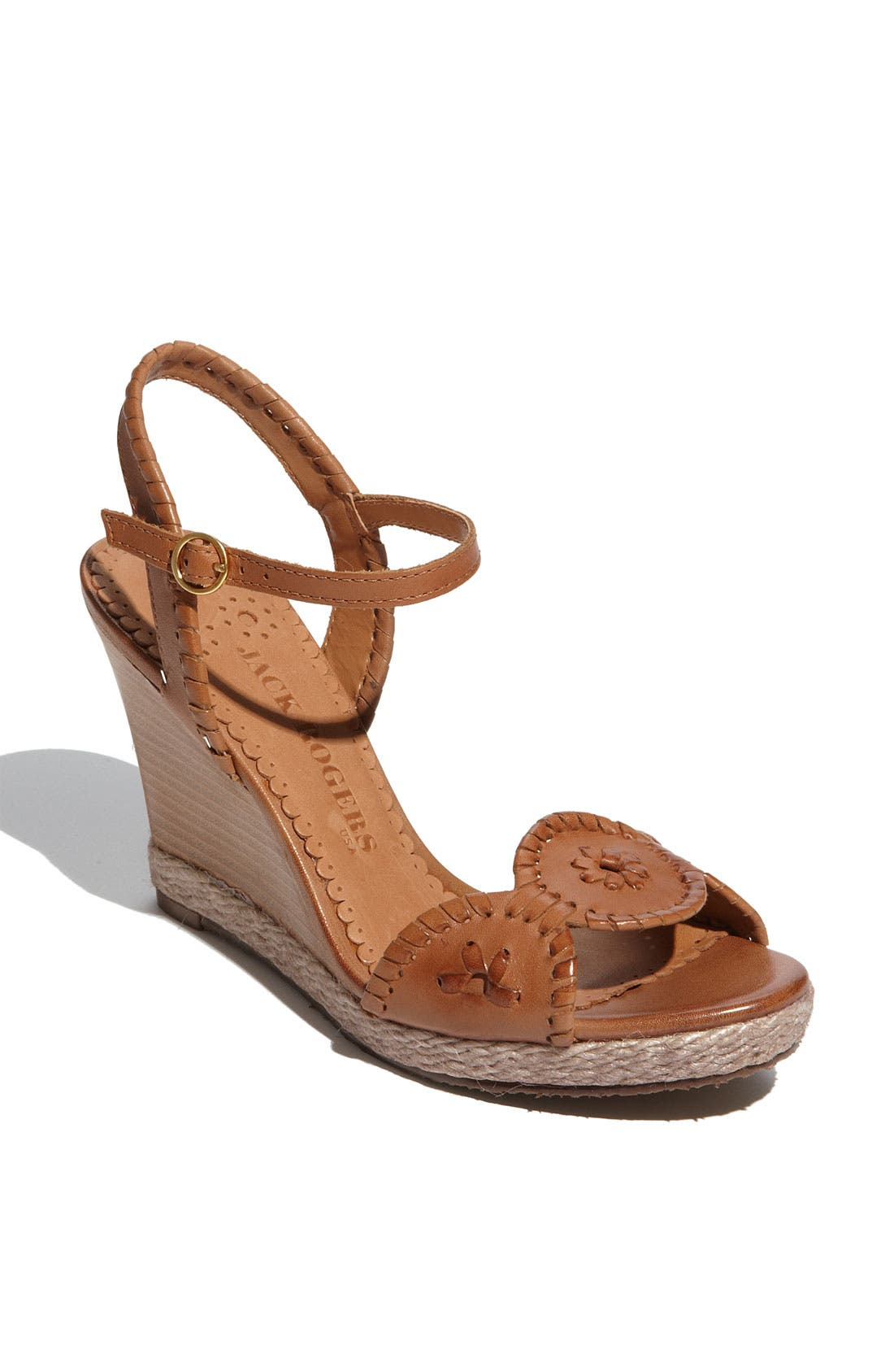 Main Image - JACK ROGERS CLARE ROPE WEDGE