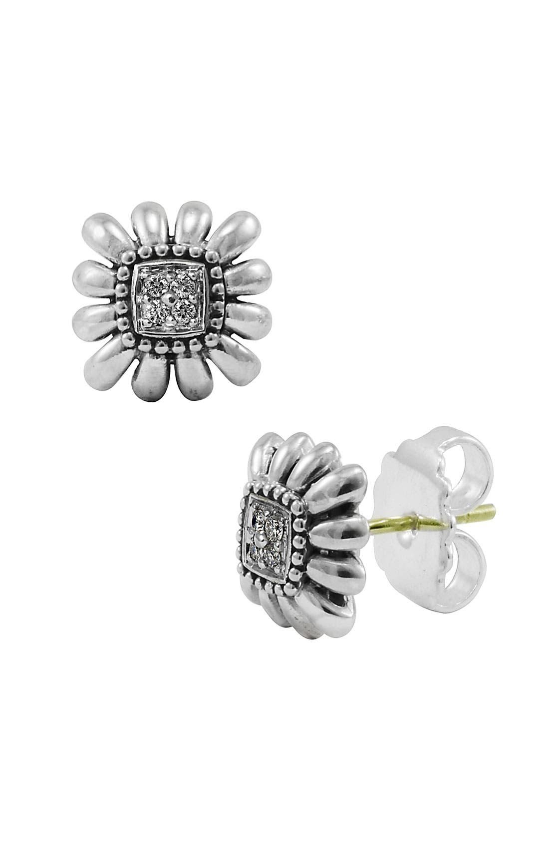 Alternate Image 1 Selected - LAGOS 'Prêt-à-Porter' Diamond Daisy Earrings