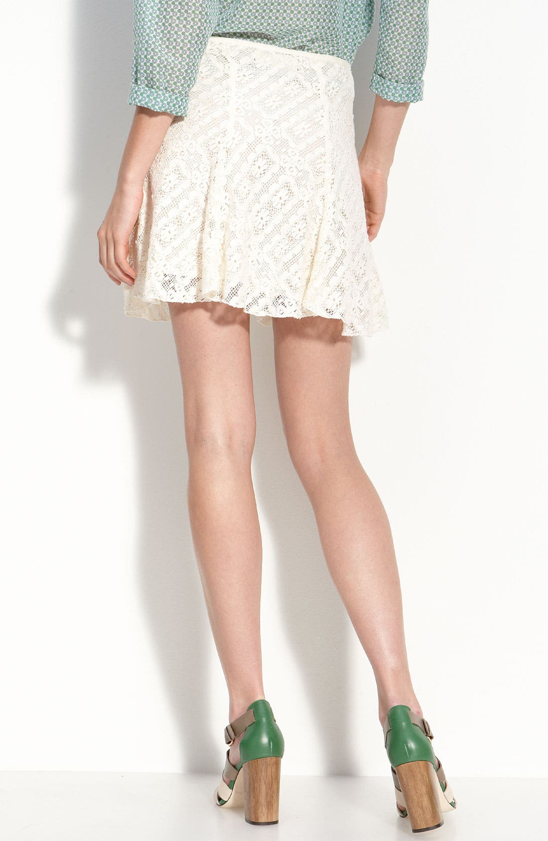 Alternate Image 2  - TEXTILE Elizabeth and James 'Darcy' Garden Lace Skirt