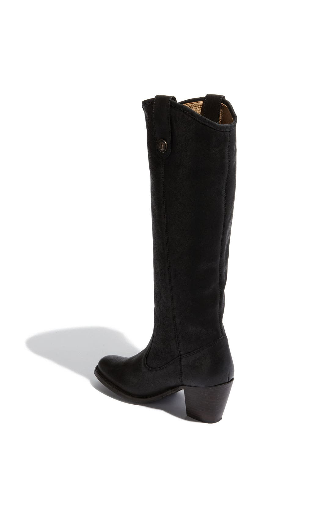 Alternate Image 2  - Frye 'Jackie Button' Leather Riding Boot