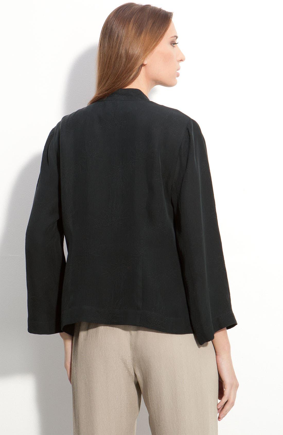 Alternate Image 2  - Citron Short Silk Jacket (Petite)