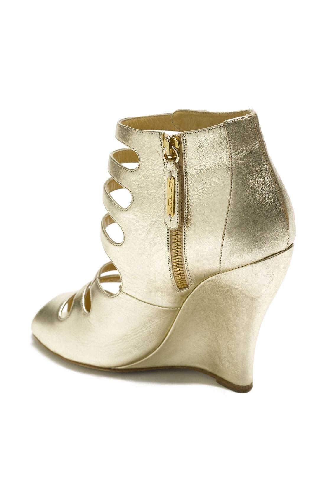 Alternate Image 2  - Oscar de la Renta 'Dakota' Wedge Bootie