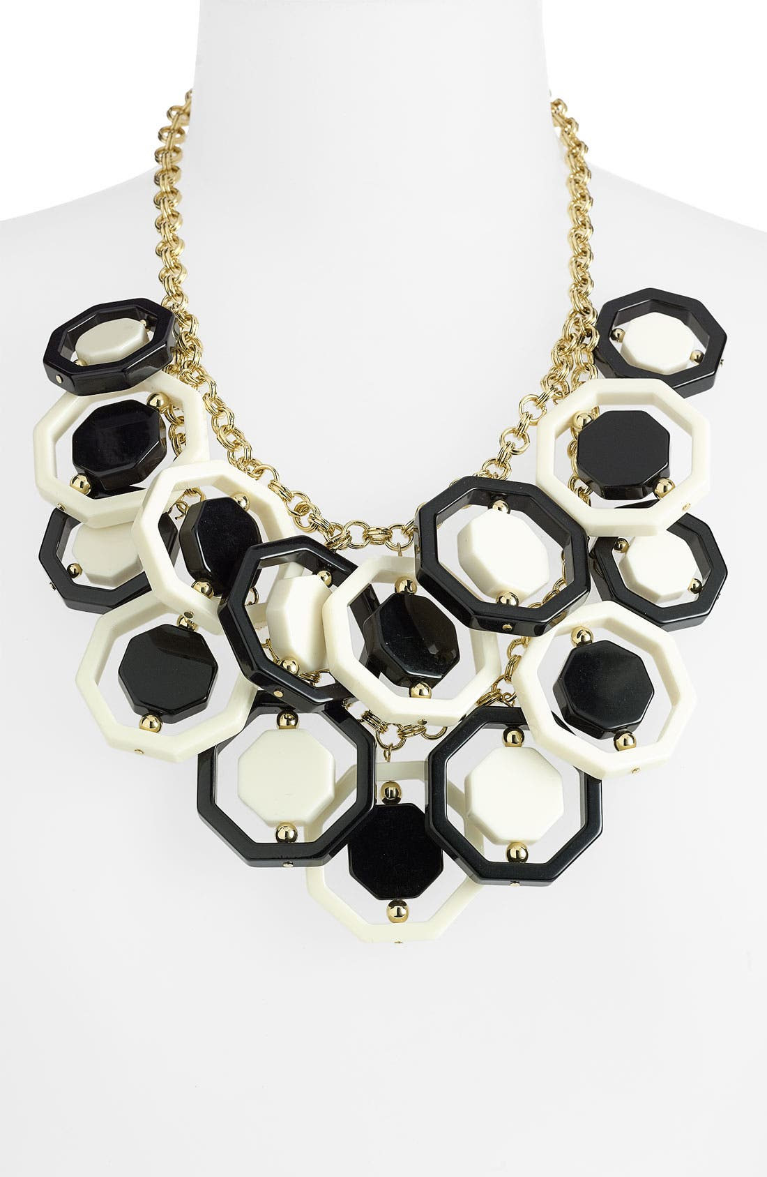 Alternate Image 1 Selected - kate spade new york 'octagonal' statement necklace