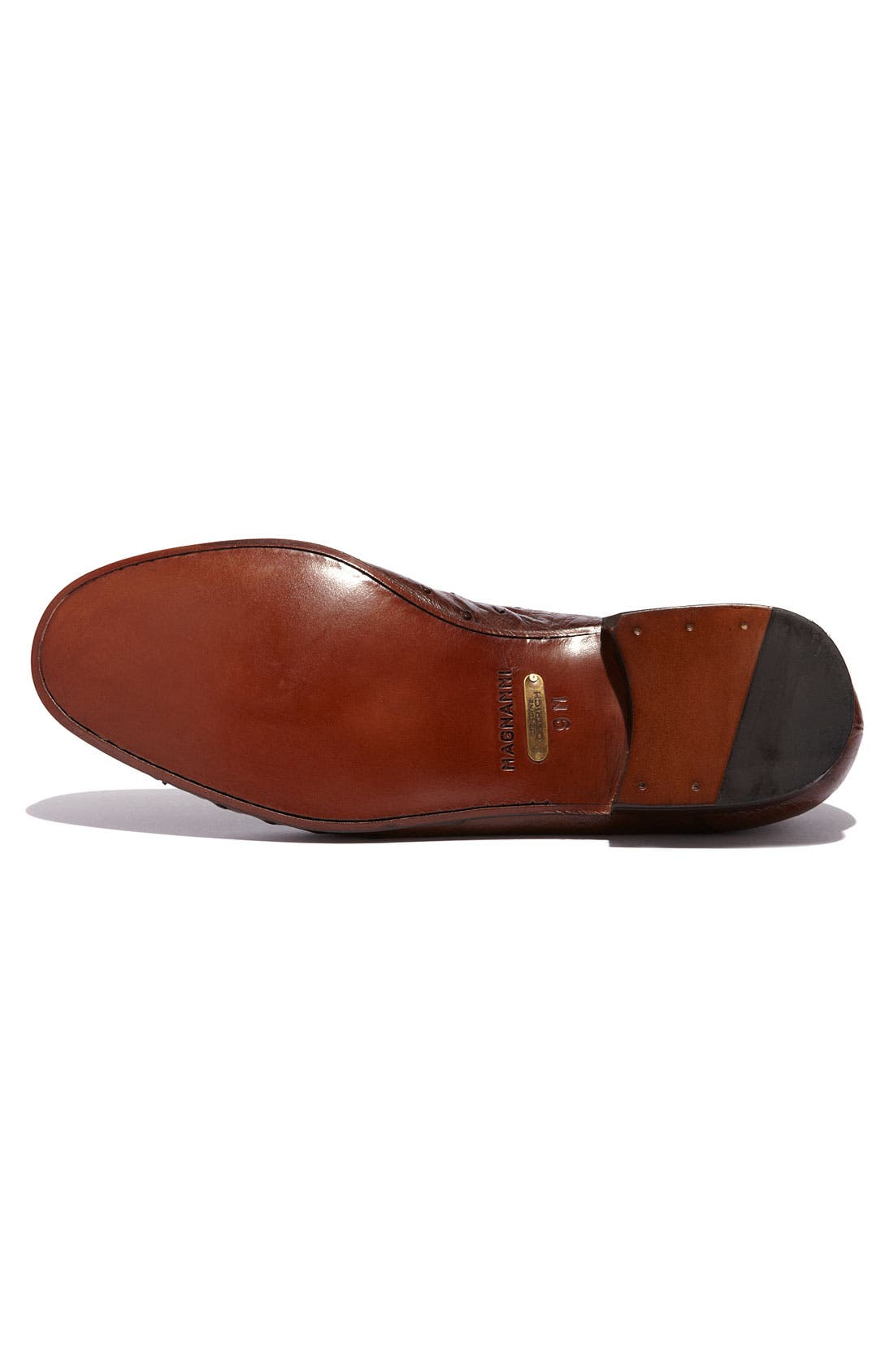 Alternate Image 4  - Magnanni 'Solea' Ostrich Loafer