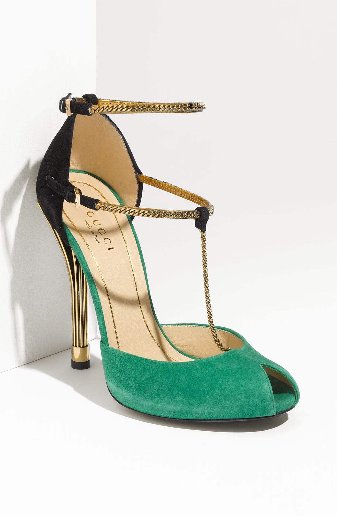 Alternate Image 1 Selected - Gucci Chain Strap Mary Jane Sandal