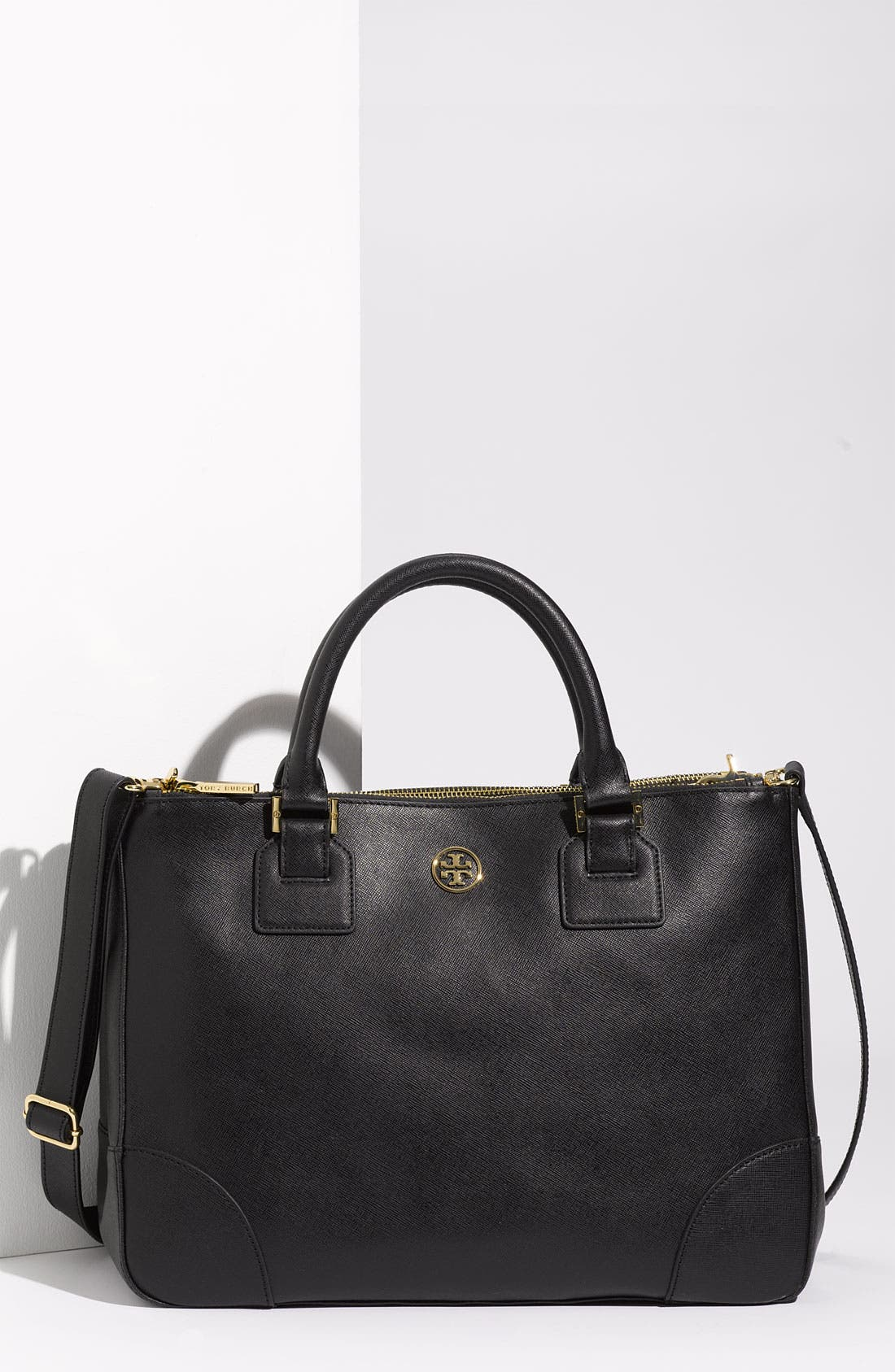 Main Image - Tory Burch 'Robinson' Double Zip Tote