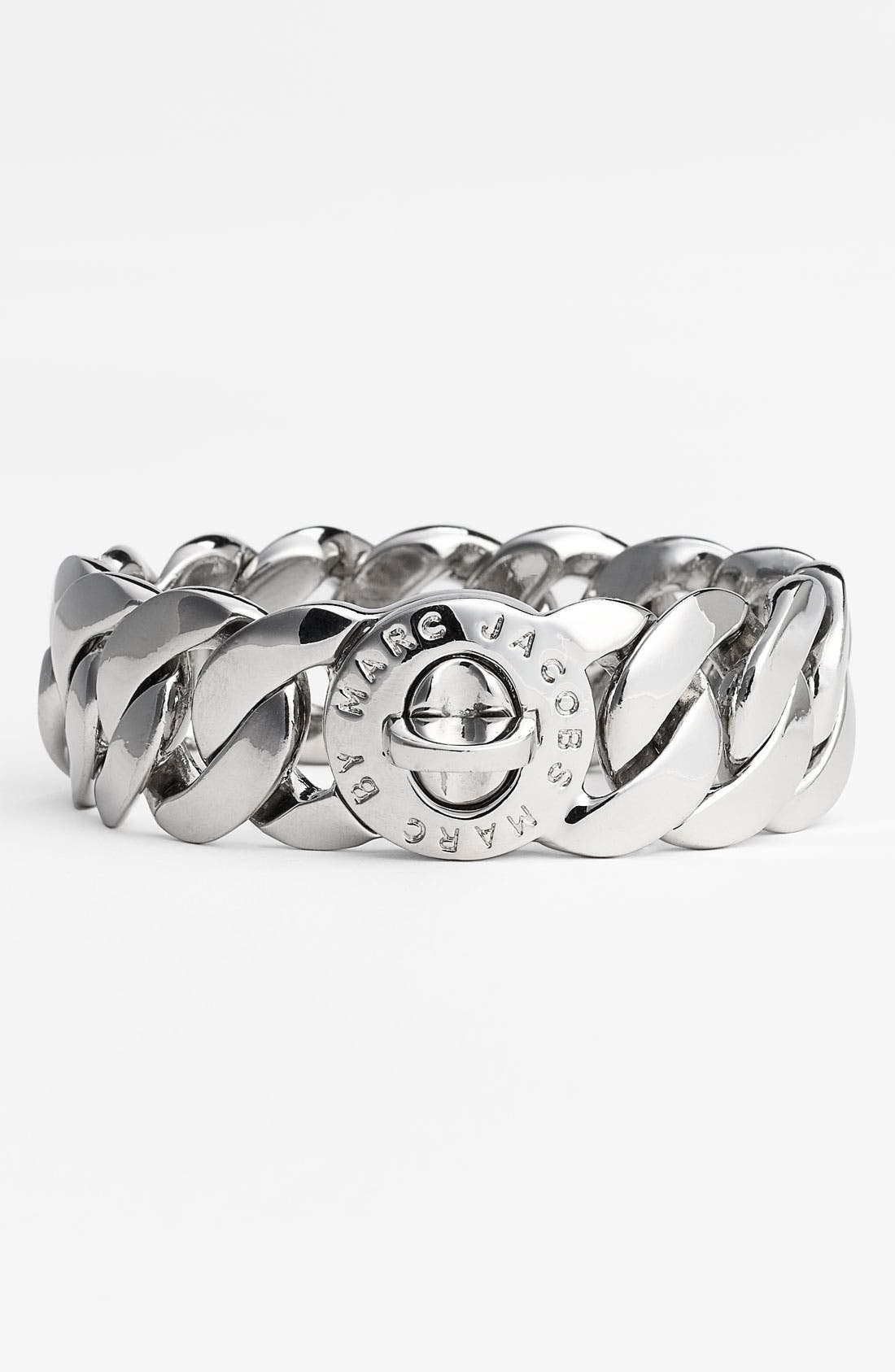 Alternate Image 1 Selected - MARC BY MARC JACOBS 'Turnlock - Katie' Large Bracelet